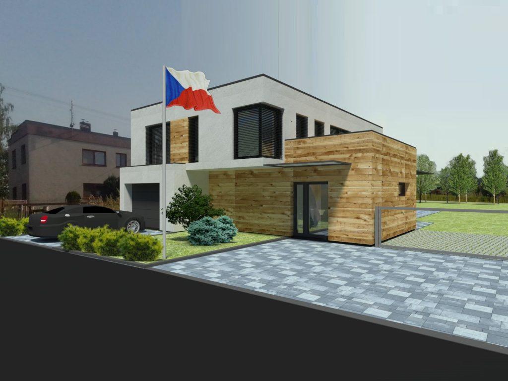 Novostavba rodinného domu Borová