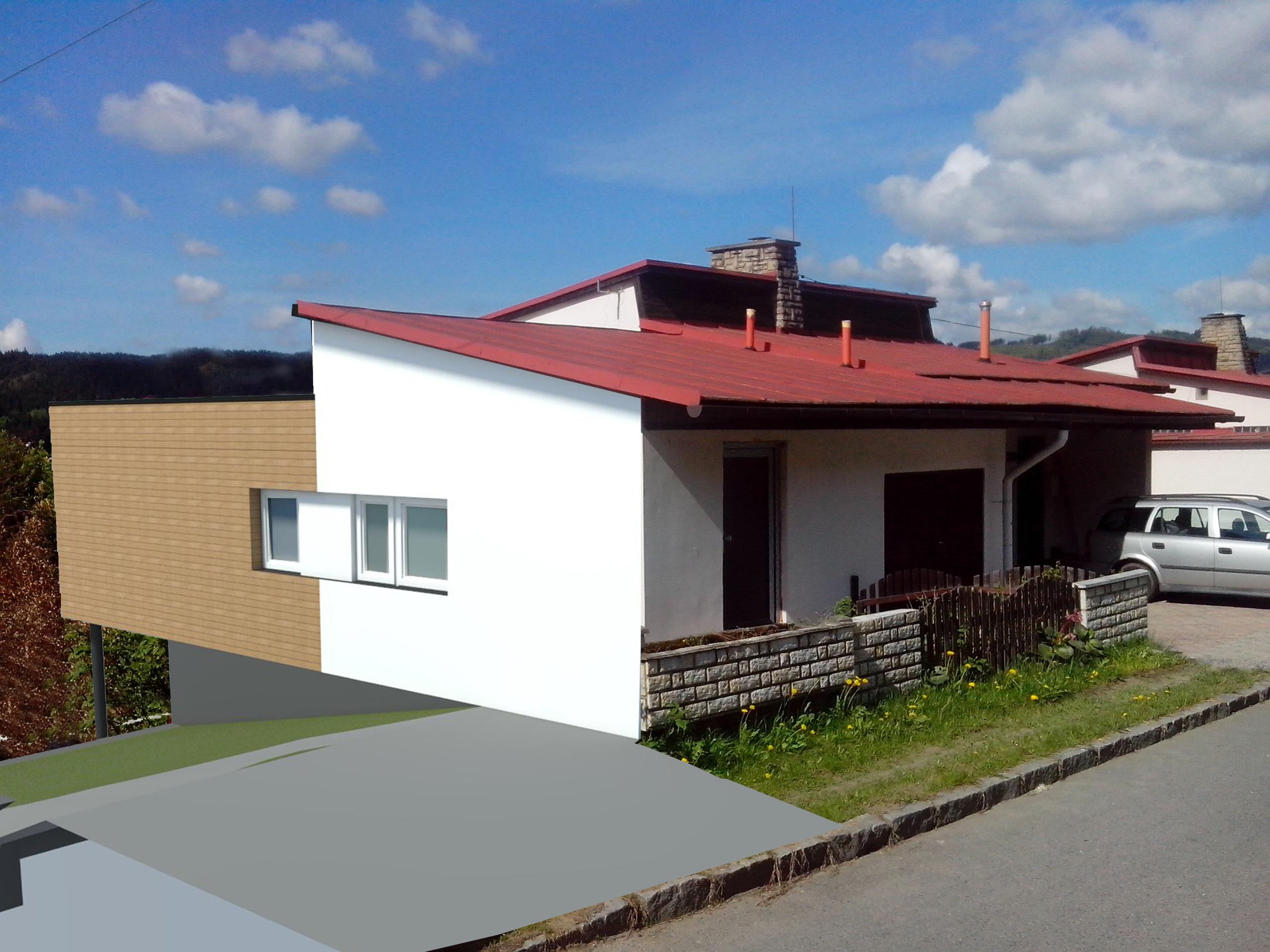 Rekonstrukce stávajícího domu – Vsetín